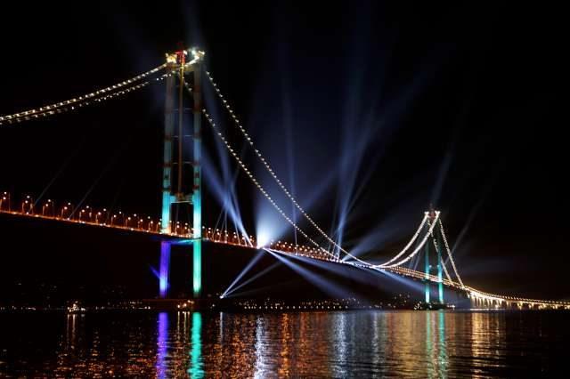 Osmangazi Köprüsü Fotoğraf: Depo Photos