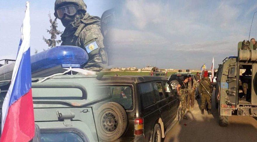 Rus askerlerinin Menbiç'te üs kuracağı iddia ediliyor.