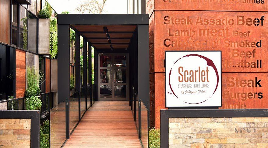 Etiler'e yeni mekan: Scarlett Steakhouse