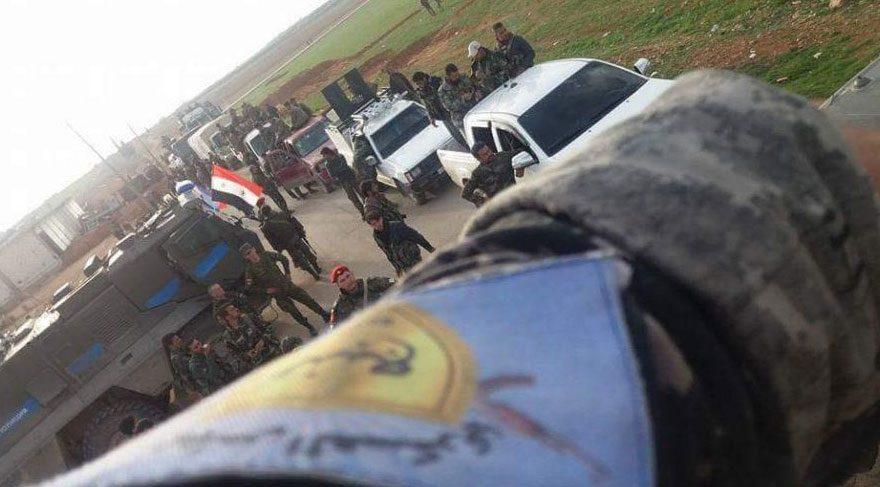 'Menbiç'te Rus askeri DSG arması taktı' iddiası