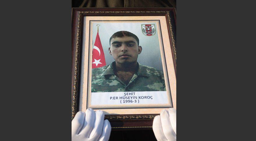 FOTO:DHA - Hüseyin Koroç, Suriye tarafından açılan ateş sonucu şehit oldu.