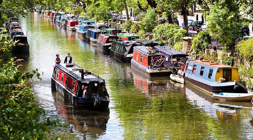 Londralılar neden teknede yaşamı seçiyor?