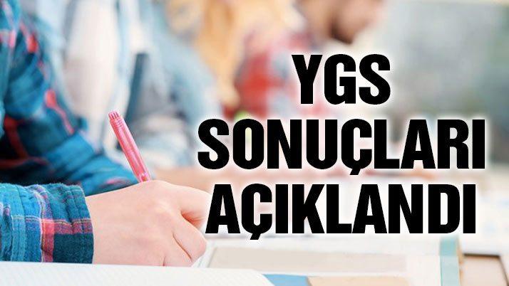 YGS sınav sonuçları açıklandı: ÖSYM sorgulama için tıklayınız