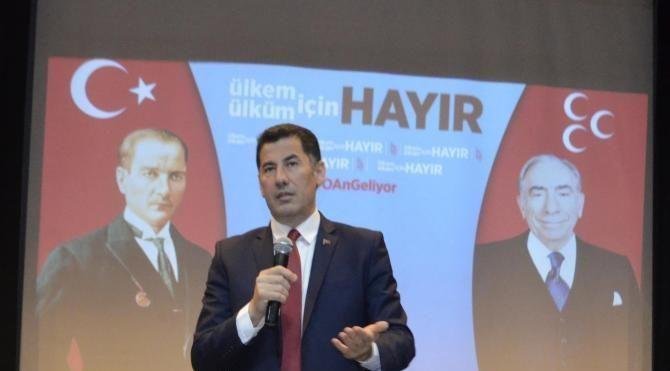 Oğan: Barzani'nin 'Evet' dediği yerde elbet de Türk Milliyetçileri 'Hayır' diyecek