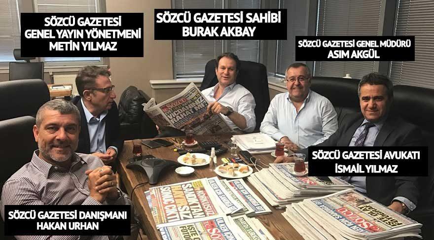 SÖZCÜ gazetesi sahibi Burak Akbay ve SÖZCÜ yönetimi bir araya geldi!