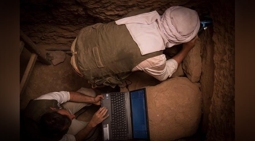 3500 yıllık firavun dönemi mumyaları bulundu!
