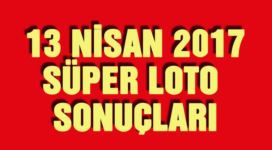 Süper Loto sonuçları 13 Nisan: Süper Loto on hafta sonra iki kişiyi zengin etti!