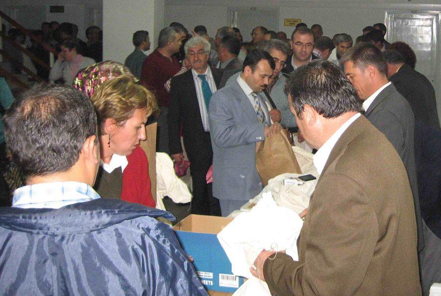 FOTO:İHA - 2007 yılında Türkiye yeniden sandık başına gitti.
