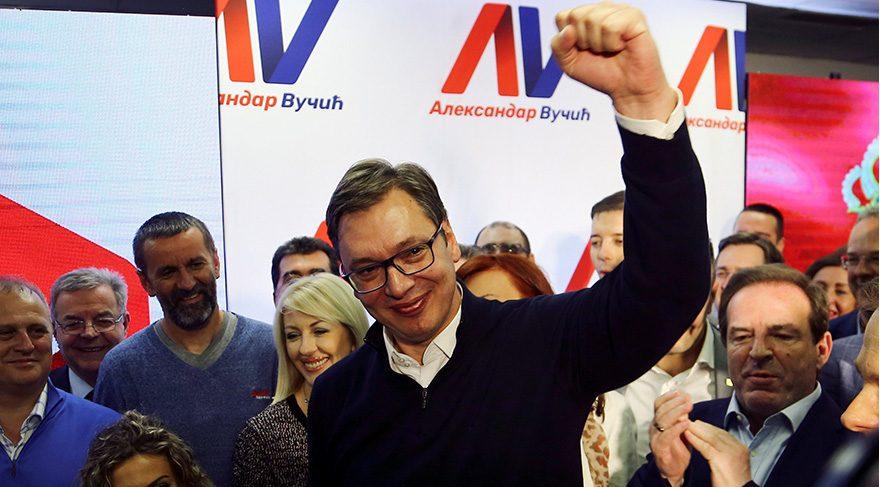 Sırbistan Başbakanı cumhurbaşkanlığı seçimlerinde zaferini ilan etti