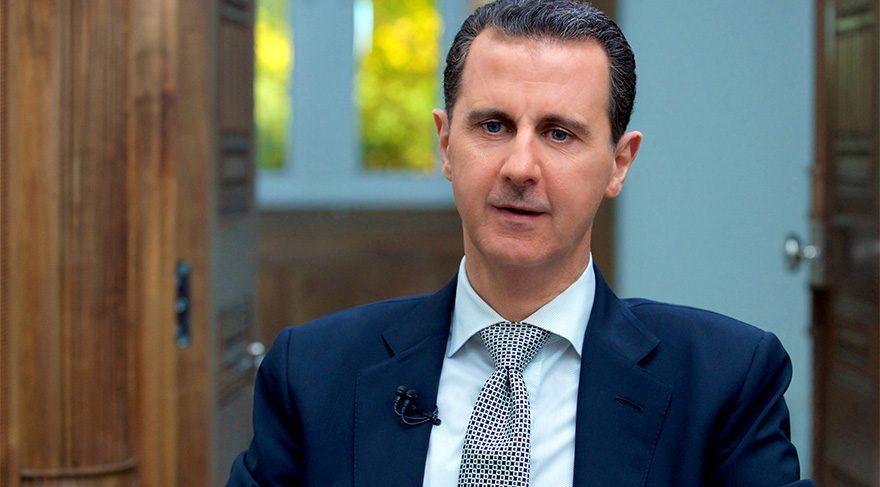 Suriye Devlet Başkanı Esad'dan büyük skandal!