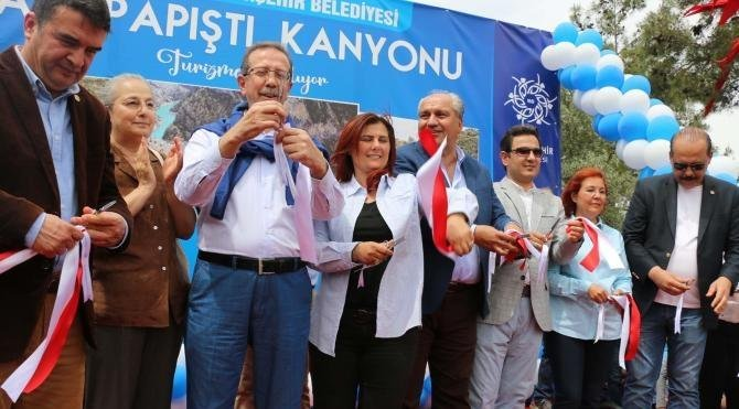 Aydın'da Arapapıştı Kanyonu turizme açıldı
