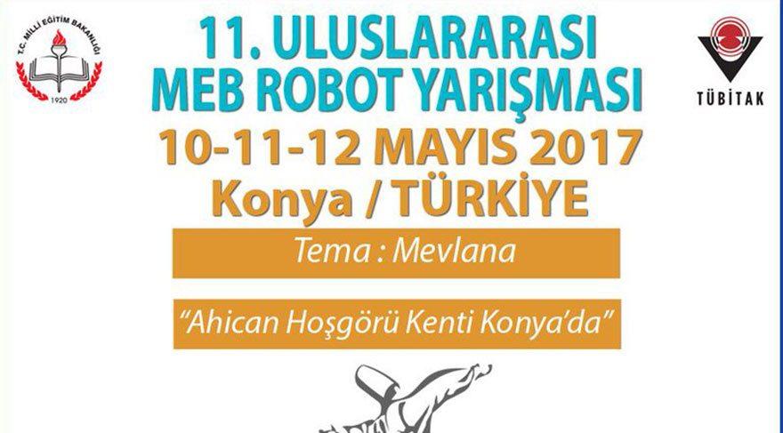 Semazen ROBOTLAR birbiriyle yarışacak Yarışmacılar, robotlara sema yaptırarak jüriyi etkilemeye çalışacak. Yarışmada insansız hava araçları ile insansı robotlar kategorileri de var.