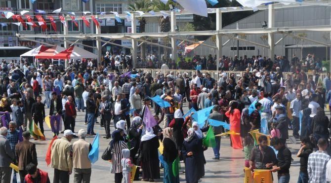 HDP Aydın'da 'hayır' oyu istedi