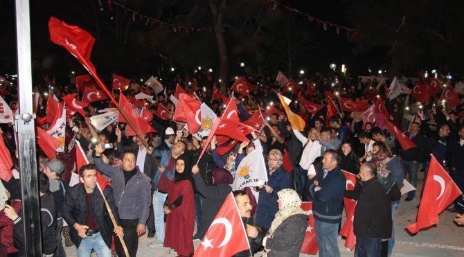 Burdur'da ortak kutlama