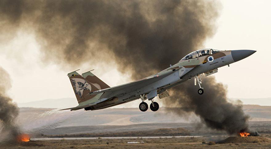 İsrail'den Suriye hava saldırısı!