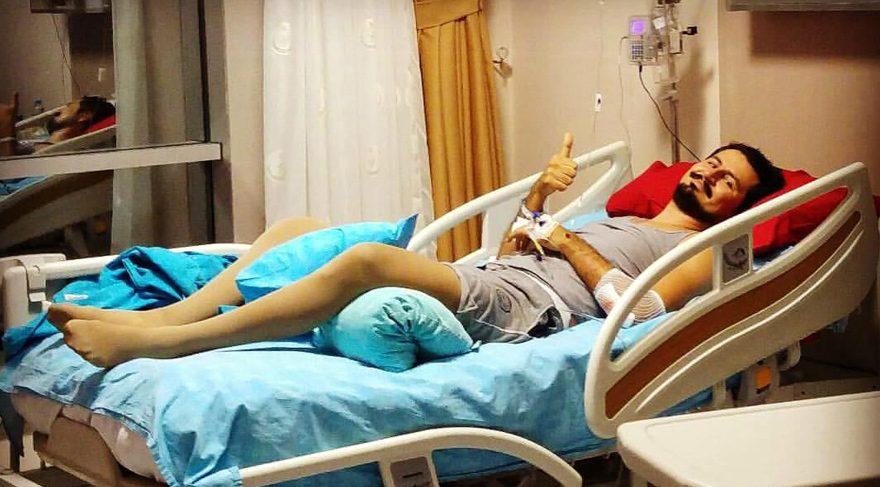 Doktorların 'yürüyemez' dediği Emrah, omurilik felçlileri için koşacak