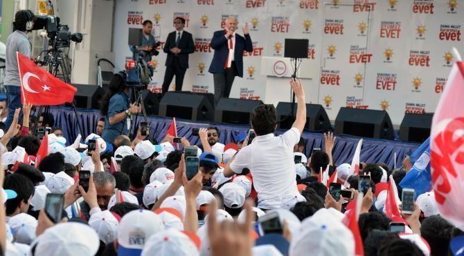 Başbakan Yıldırım: Şeytan taşlamaktan vakit kaldıkça muazzam eserler yaptık (4)