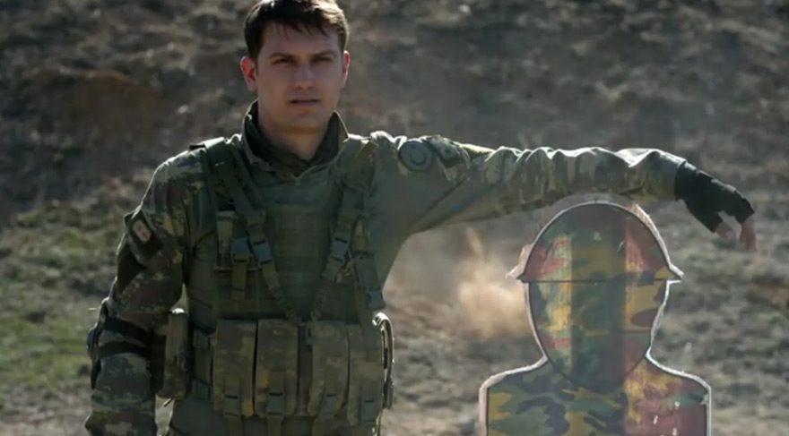 Alican Albayrak, gerçek mermilerin önünde durdu