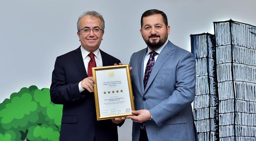 AND Kozyatağı'na 5 yıldızlı sertifika