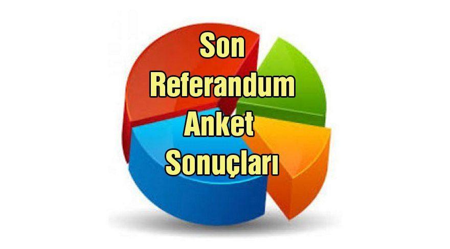En son anket sonuçları: Referandum öncesi evet mi, hayır mı önde?