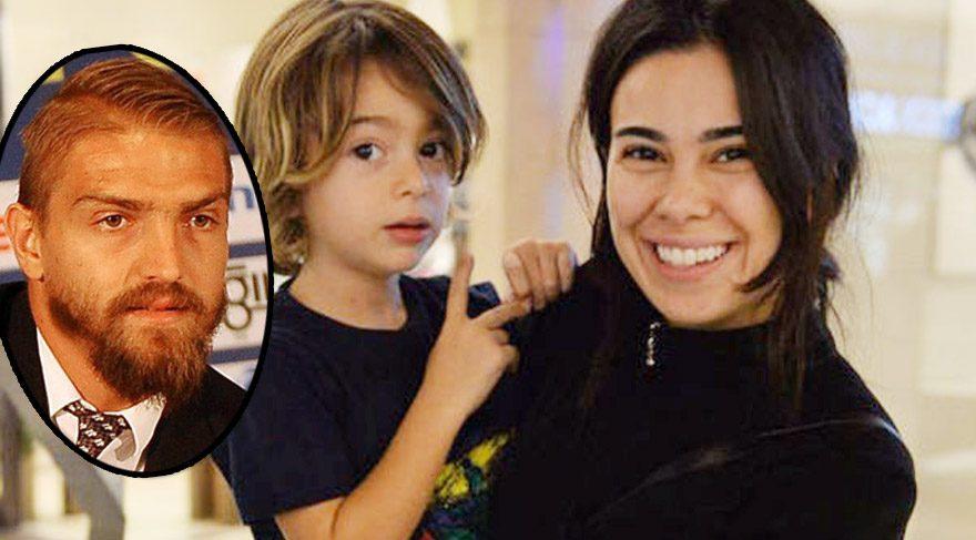 Asena Atalay'dan oğlu Çınar'a mesaj