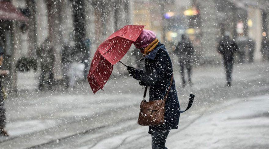 Meteoroloji, 23 Nisan 2017 Pazar günü kar yağışı uyarısında bulundu