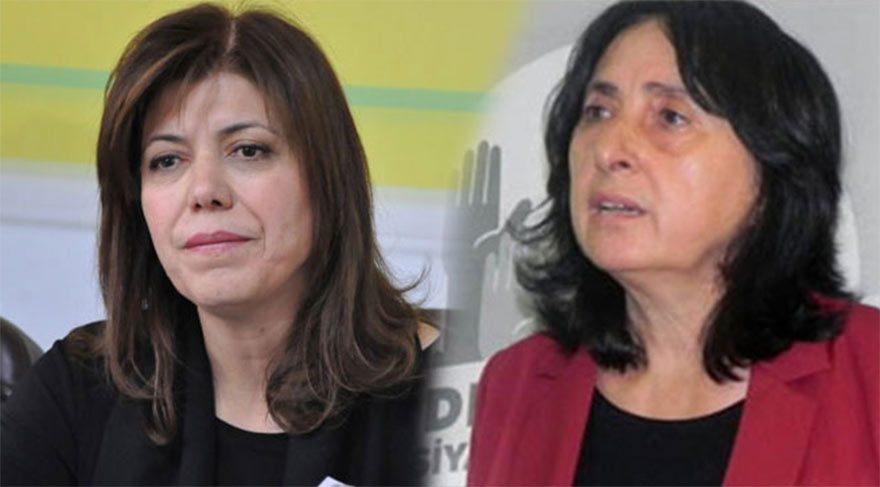 HDP milletvekilleri Nursel Aydoğan ve Meral Danış Beştaş tahliye edildi