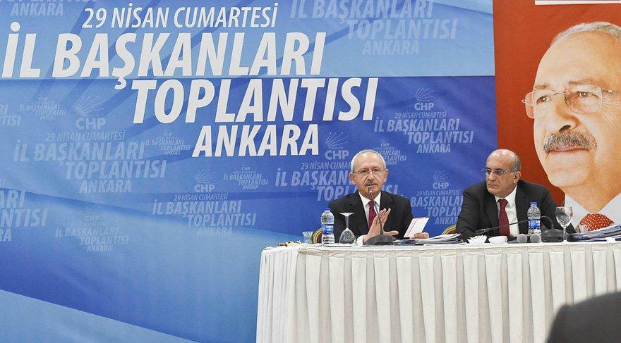 CHP İl Başkanları Toplantısı ardından bildiri yayınladı