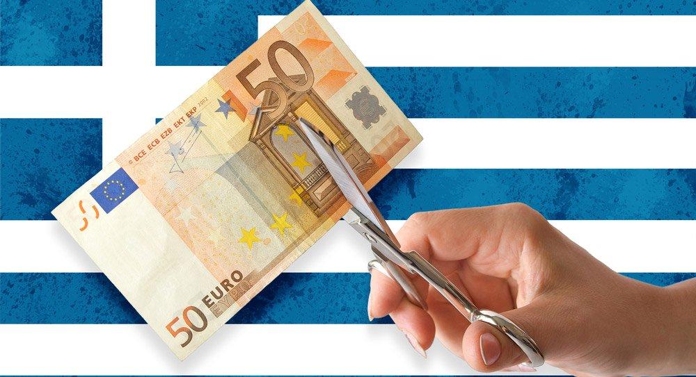 Yunanistan'ın borcu siniliyor