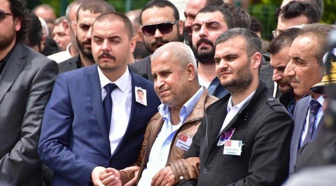 Şehit pilot polis Abdullah Ortanca, İzmir'de uğurlandı