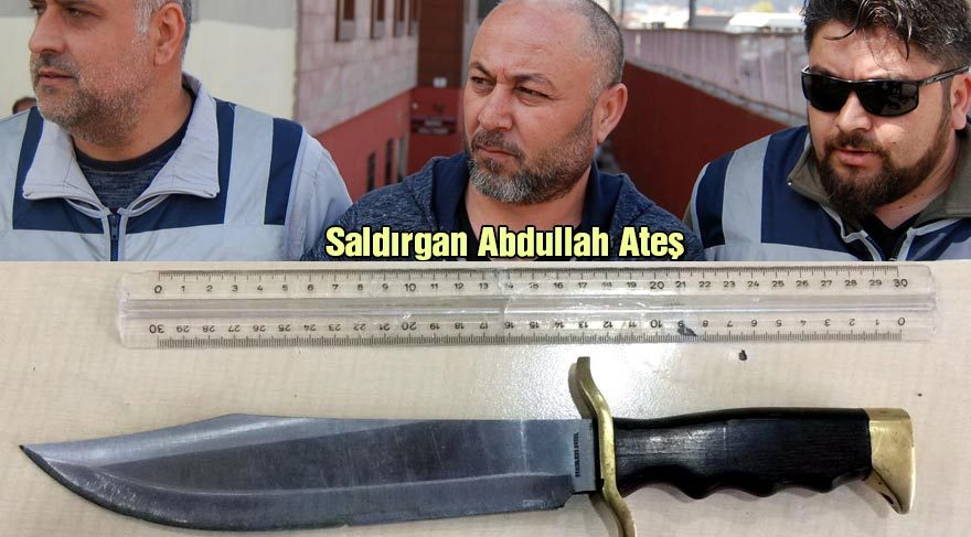 CHP'li Arık'a bıçakla saldıran Abdullah Ateş adliyeye sevk edildi