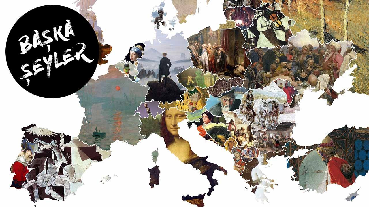 Dünya sanat haritası çıktı... Türkiye şaşırtmadı!
