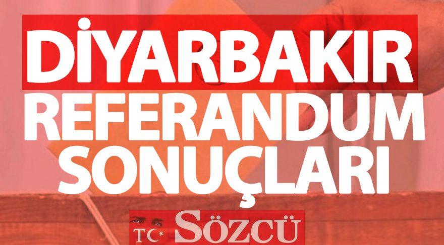 Referandum sonuçları 2017: Diyarbakır seçim sonuçları oy oranları (GÜNCEL)