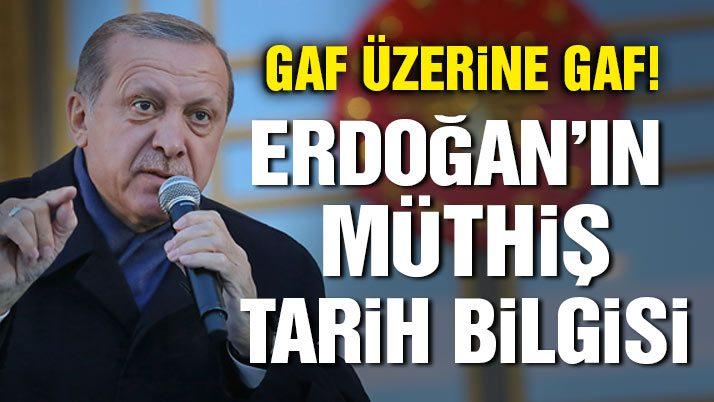 Erdoğan'dan gaf üzerine gaf! Bu sefer de danışmanlar mı 'kandırdı'?