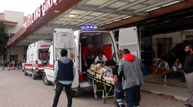 El Bab kırsalında yaralanan 4 Suriyeli Kilis'e getirildi