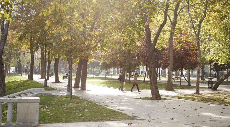 İstanbullular hafta sonları bu parklara akın ediyor