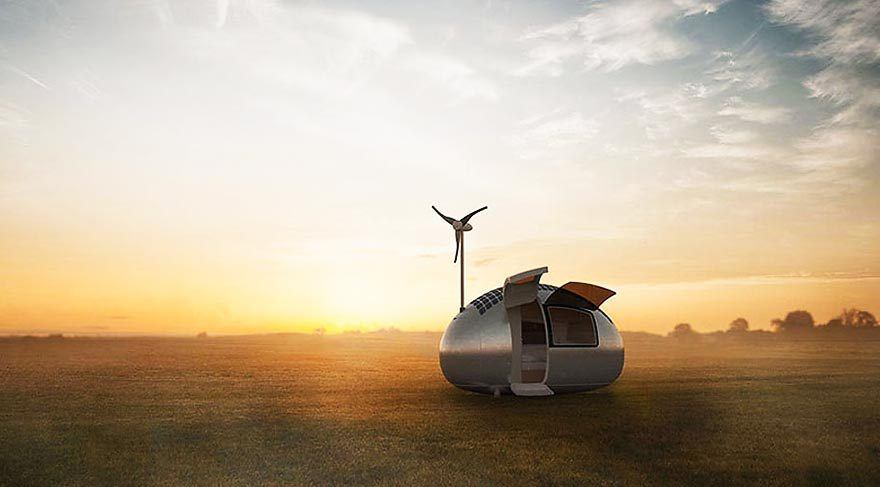 Modern çadır: Eko-kapsül