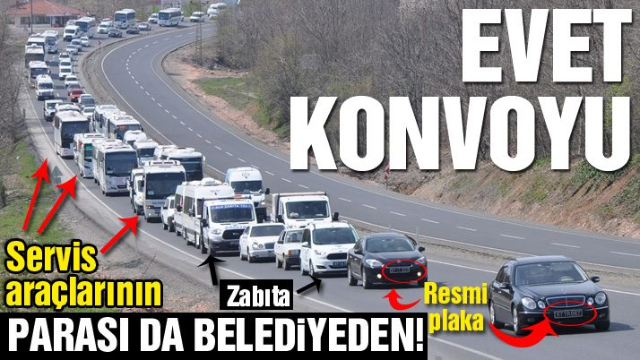 Ereğli'yi Erdoğan'ın mitingine taşıdı
