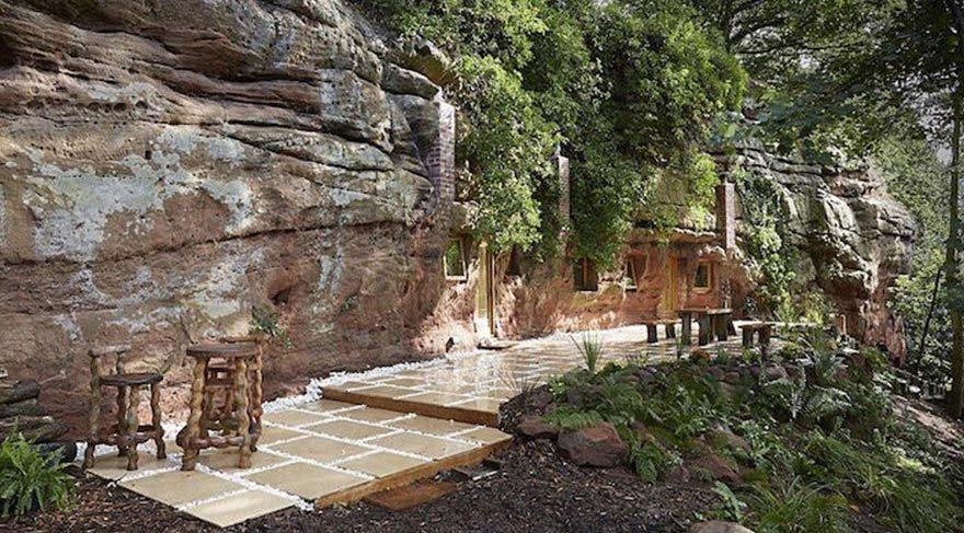 700 yıllık mağara lüks bir eve dönüştü