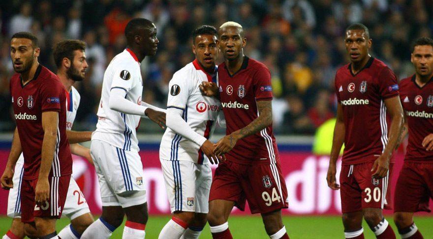 Beşiktaş Lyon maç özeti izle: Kartal işi rövanşa bıraktı