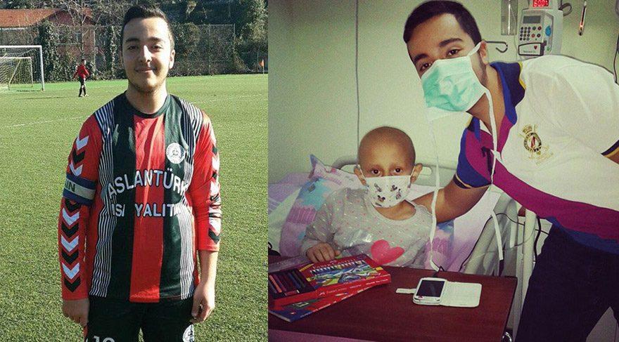 Futbol sayesinde kanser olduğunu öğrendi