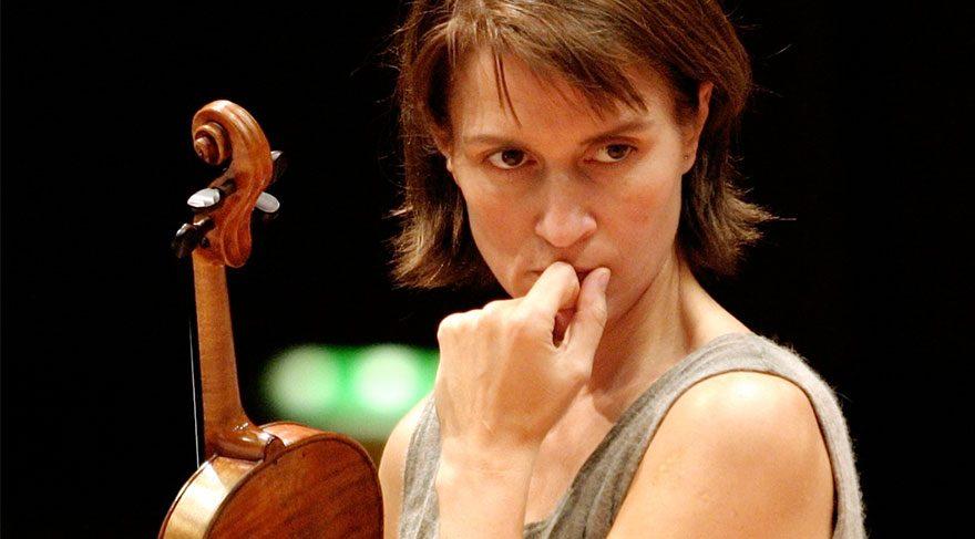 Viktoria Mullova İstanbul'u kemanıyla büyüleyecek