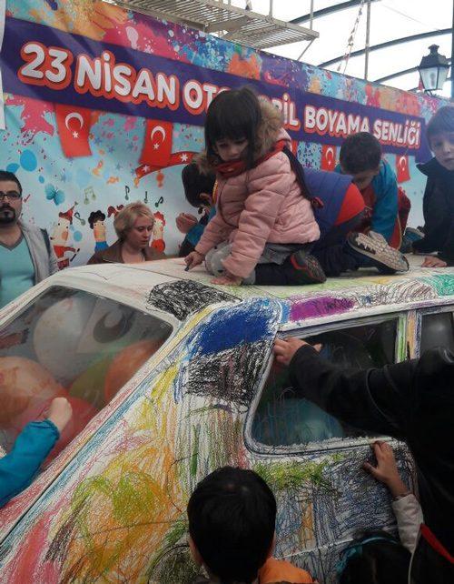 Minikler Rahmi Koç Müzesinde Otomobil Boyadı Kültür Sanat Son