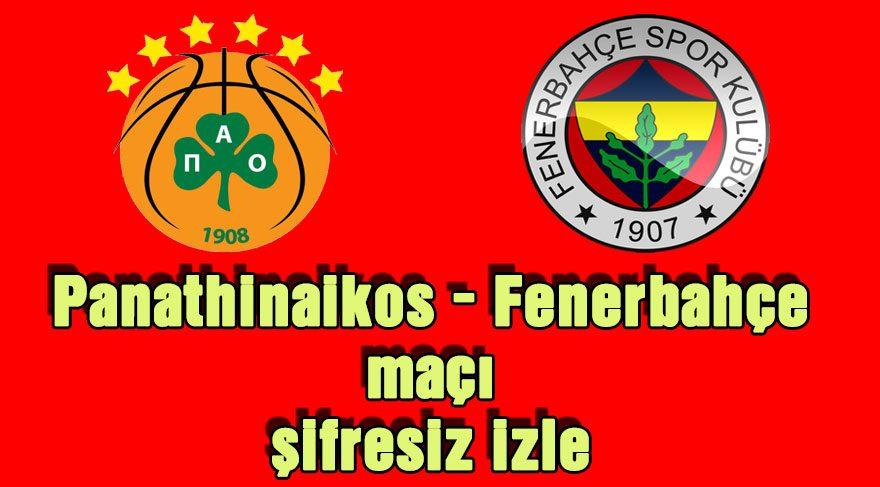 Panathinaikos – Fenerbahçe maçı şifresiz izle: Euroleague'de Fenerbahçe avantaj peşinde!