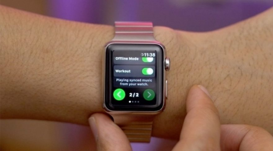 Spotify, Apple Watch'a geliyor!