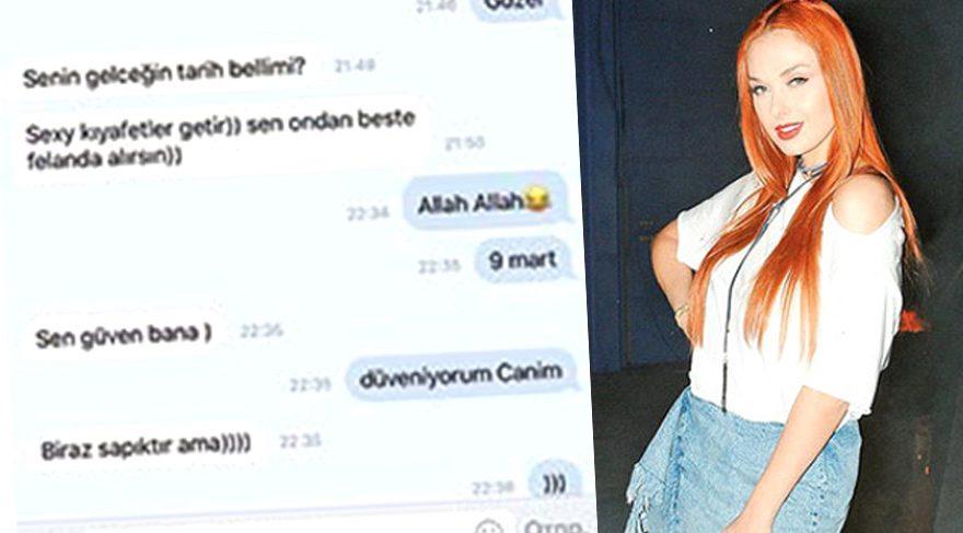 Murat Dalkılıç'ın dansçısı Ömer Yeşilbaş'la mesajlaştığı söylenen Tasha ilk kez konuştu