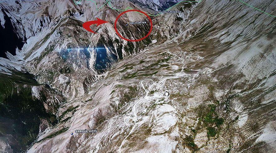 Tunceli'de helikopter faciası: 12 şehit! Düşen helikopterin enkazı kaldırılıyor