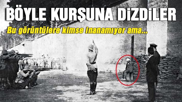 Türkiye tarihinden daha önce görmediğiniz fotoğraflar