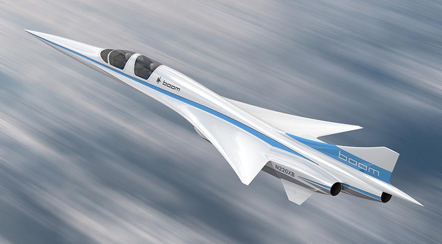 Yeni süpersonik yolcu uçağı geliyor