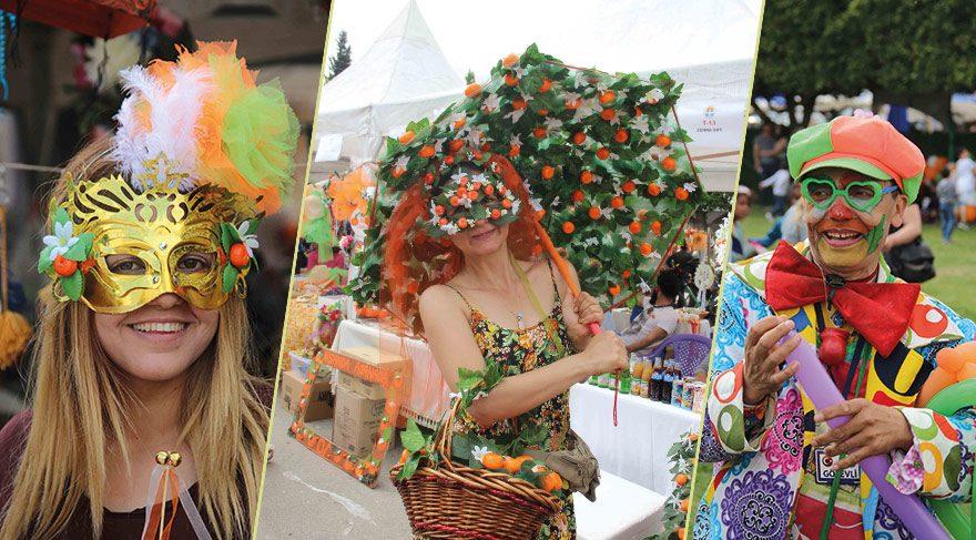 Adana'da Uluslararası Portakal Çiçeği Karnavalı 5'inci kez düzenlendi